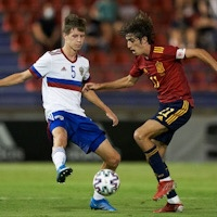 Молодёжная сборная России уступила Испании в первом матче отборочного этапа ЧЕ-2023