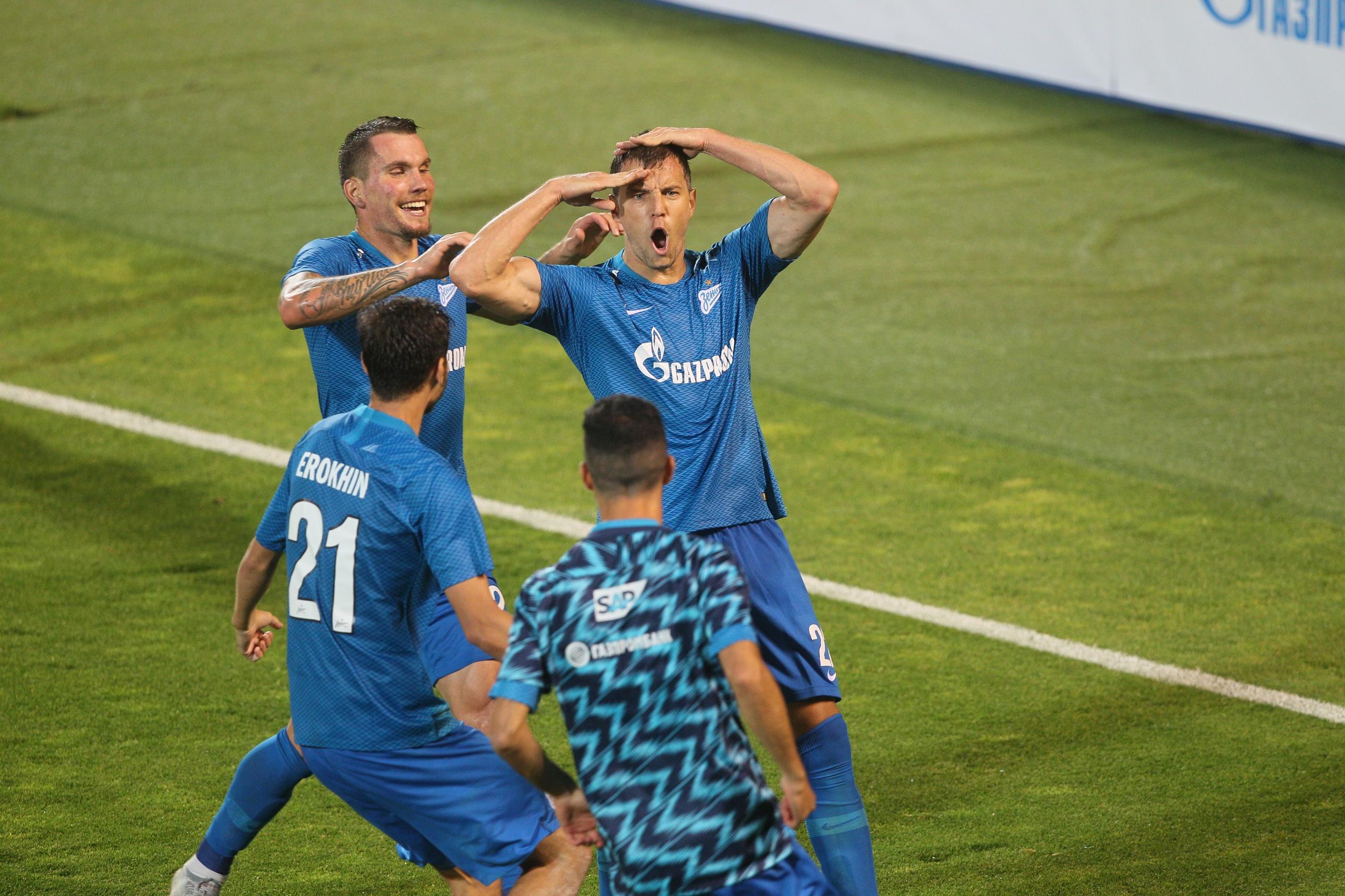 «Зенит» одержал фееричную победу в матче ЛЕ