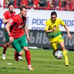 «Локомотив» и «Анжи» сыграли вничью