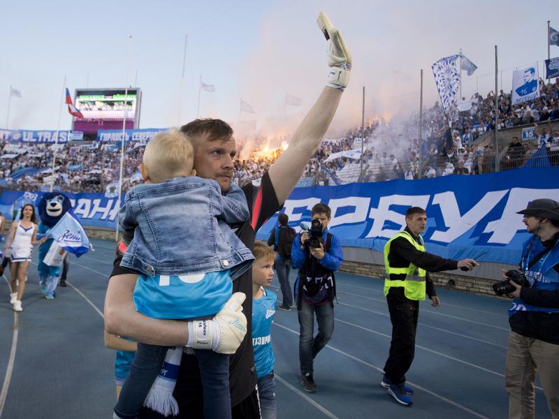 Вячеслав Малафеев попрощался с «Петровским»