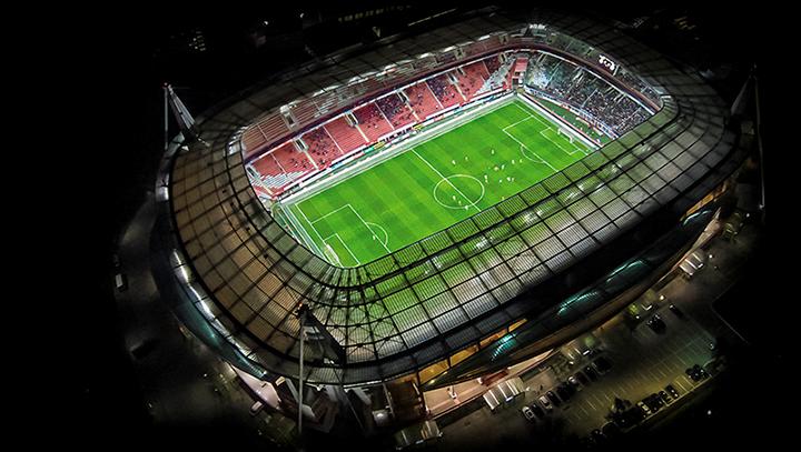 Матч Россия – Гана пройдет на стадионе «Локомотив»