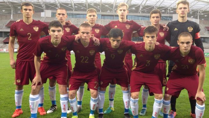 Юношеская сборная России сыграла вничью с Францией