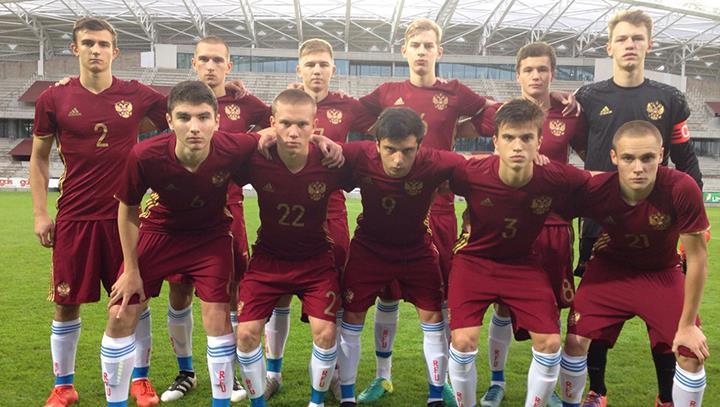 Юношеская сборная России победила Уругвай