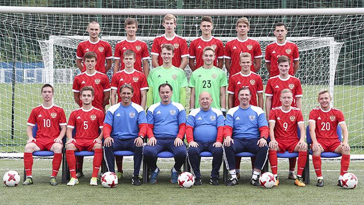 Юноши не сумели завоевать путевку в элитный раунд Евро-2018