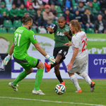 «Локомотив» вырвал победу в Краснодаре