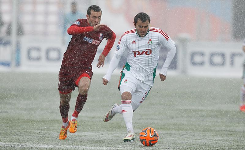 «Мордовия» и «Локомотив» сыграли вничью