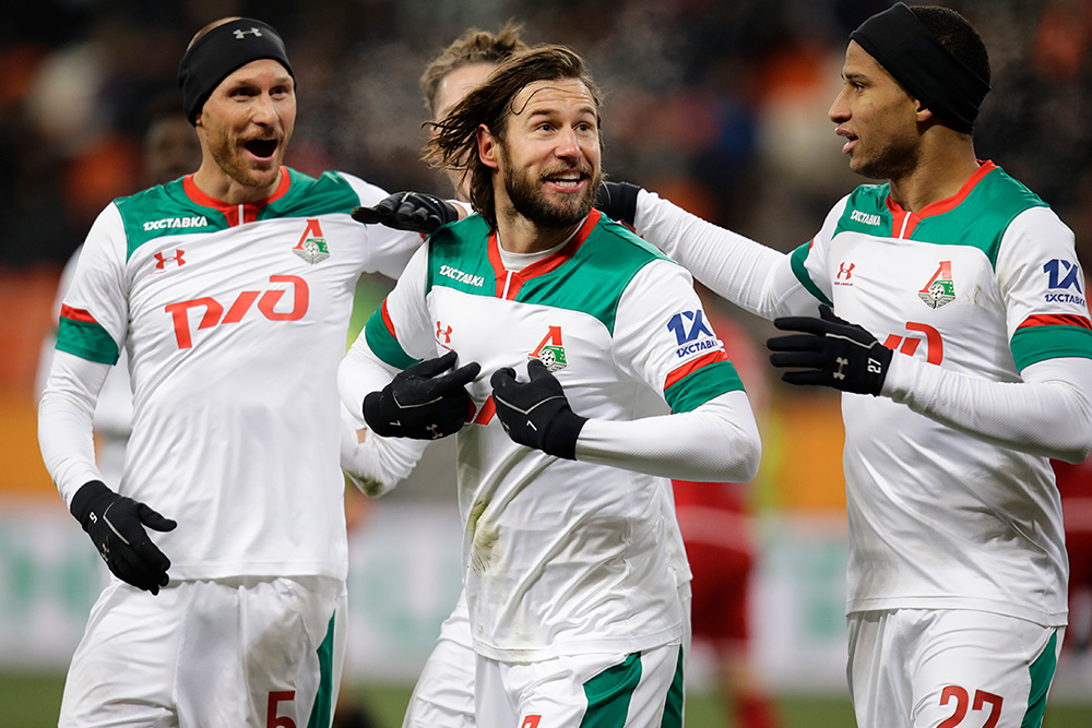 На первом тренировочном сборе «Локомотив» проведет 3 матча