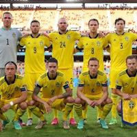 Швеция сыграла вничью с Испанией.Берг, Олссон и Классон приняли участие в матче