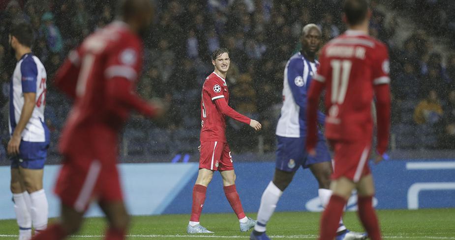 «Локомотив» уступил «Порту» и лишился шансов на плей-офф Лиги чемпионов