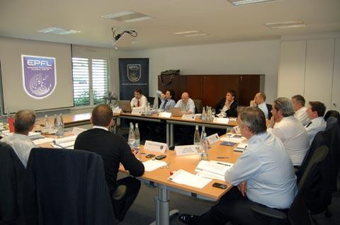 В Ньоне прошло заседание Совета директоров ЕПФЛ