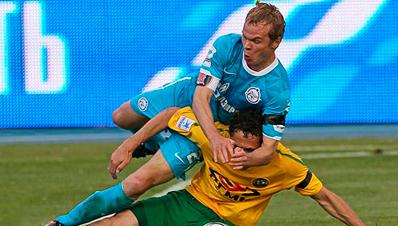 «Зенит» одержал победу над «Кубанью»