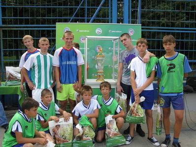 Футбольный праздник проходит в Ростове