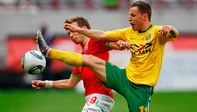 «Локомотив» одержал победу над «Кубанью»