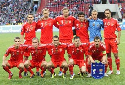 Сборная России обыграла Словакию