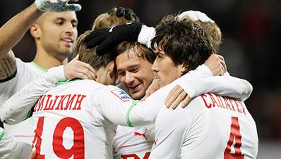 «Локомотив» обыграл «Томь»