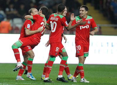 «Локомотив» добился победы в Нальчике