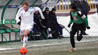 «Томь» и «Краснодар» сыграли вничью