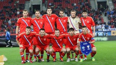 Россия - 12-я в рейтинге ФИФА