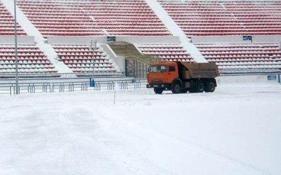 В Нижнем Новгороде началась подготовка стадиона