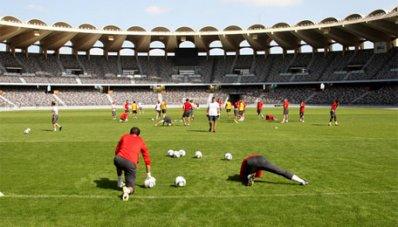 Все 24 футболиста приняли участие в тренировке «Спартака»