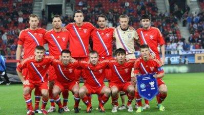 Назван состав сборной России на матч против Дании
