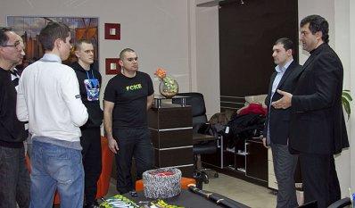 Олег Мкртчан встретился с болельщиками «Кубани»