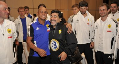 Марадона навестил «Анжи»