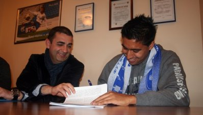 Нобоа подписал трехлетний контракт с «Динамо»