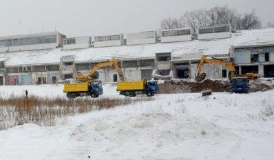 Дан старт строительству стадиона «Динамо»