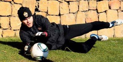 Акинфеев принял участие в тренировке ЦСКА