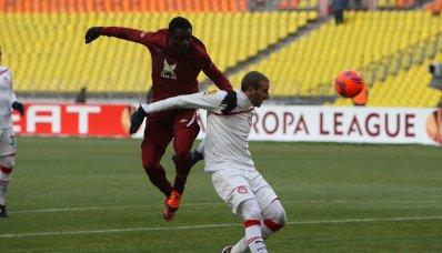 «Рубин» проиграл в первом матче 1/16 финала Лиги Европы