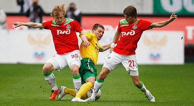 «Локомотив» обыграл «Кубань»