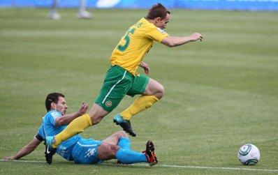 «Зенит» потерял очки в матче против «Кубани»