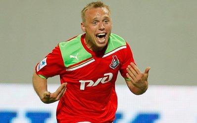 Глушаков принес победу «Локомотиву»