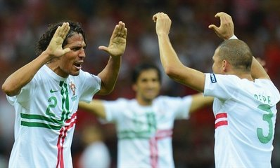 Защитник «Зенита» сыграет в полуфинале ЕВРО-2012 в составе сборной Португалии