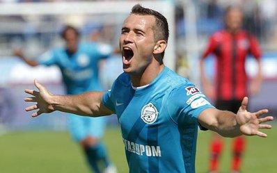 Дубль Кержакова принес победу «Зениту»