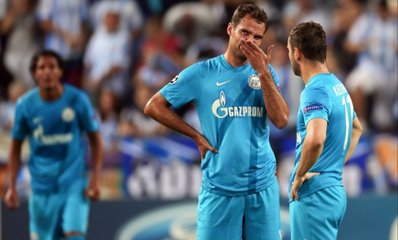 «Зенит» стартовал в Лиге чемпионов с поражения от «Малаги»