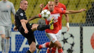 «Спартак» проиграл во втором матче Лиги чемпионов