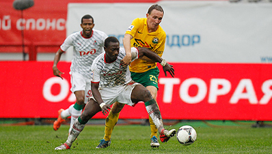 Гол Букура принес победу «Кубани»