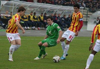 «Алания» проиграла «Рубину» в первом матче под руководством Валерия Газзаева