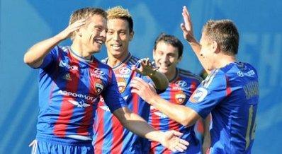 ЦСКА одержал шестую подряд победу