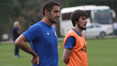Лахиялов и Амисулашвили провели первую тренировку в «Крыльях Советов»