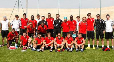 «Локомотив» завершает сбор в ОАЭ