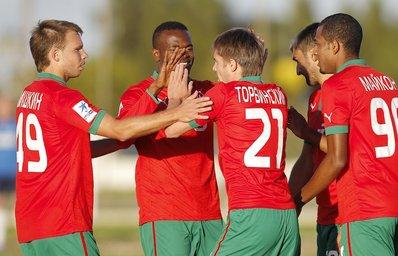 «Локомотив» переиграл «Лудогорец»
