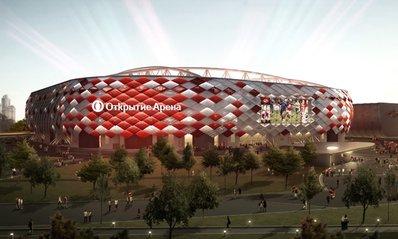 Стадион «Спартака» будет называться «Открытие Арена»