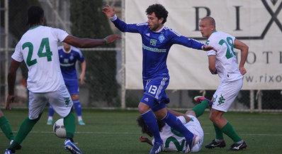 «Краснодар» сыграл вничью с киевским «Динамо»