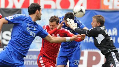«Динамо» обыграло «Мордовию»