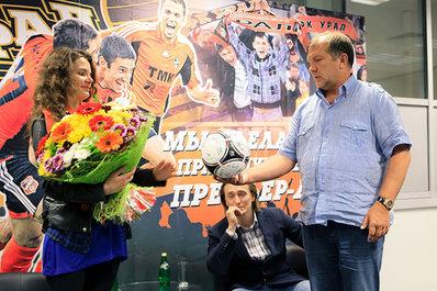 Звезды российского кино поздравили ФК «Урал»