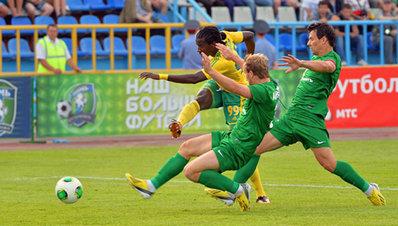 «Кубань» победила в Томске