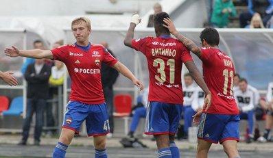 ПФК ЦСКА победил в товарищеском матче